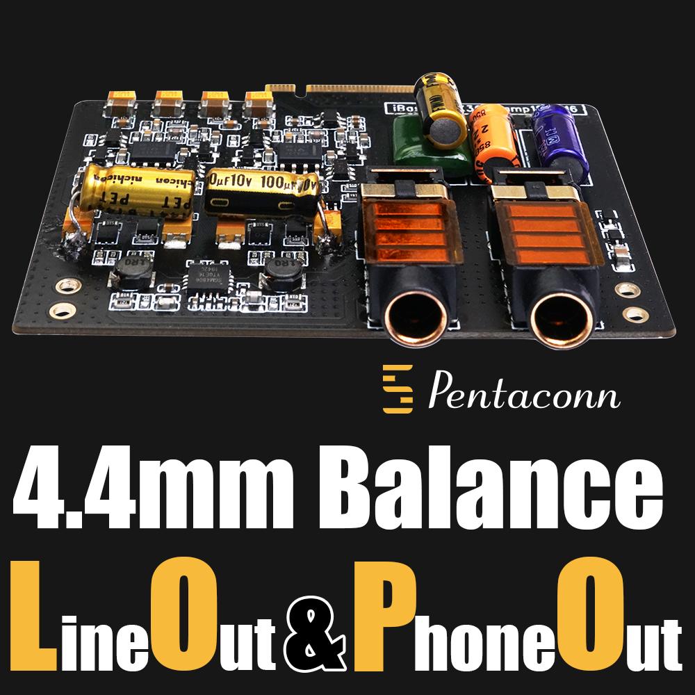 【工場再生品】 iBasso Audio AMP12 ブラック