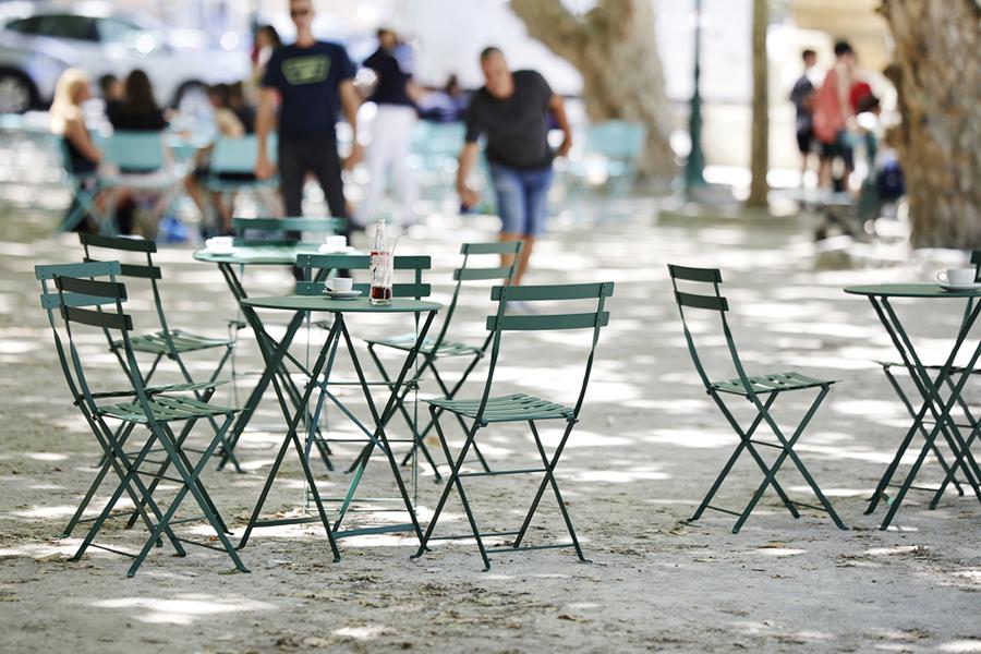 fermob Bistro Table Φ60cm Cedar Green