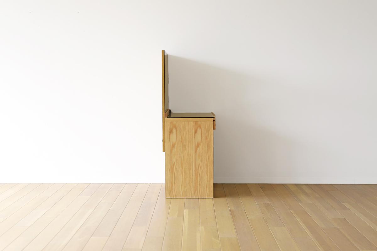レッチェ80ドレッサー(椅子付き)WO