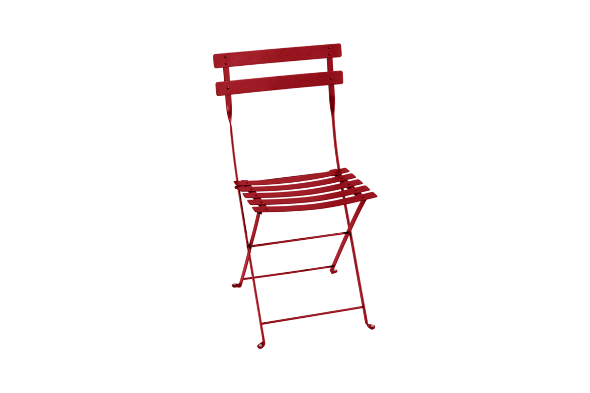 fermob Bistro Metal Chair Poppy