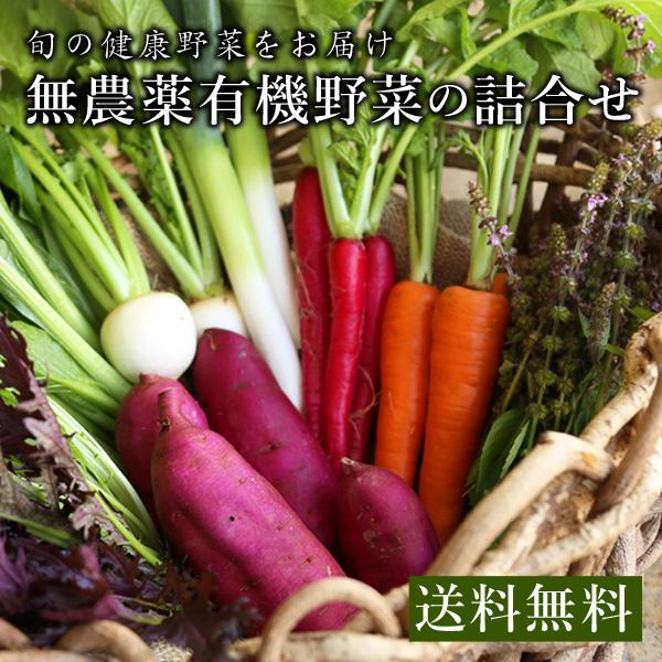 無農薬有機野菜の詰合せ