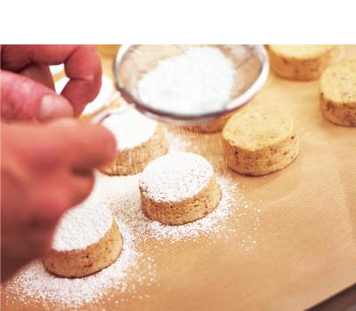 冬のクッキー(ポルボロン アソート) 6個入