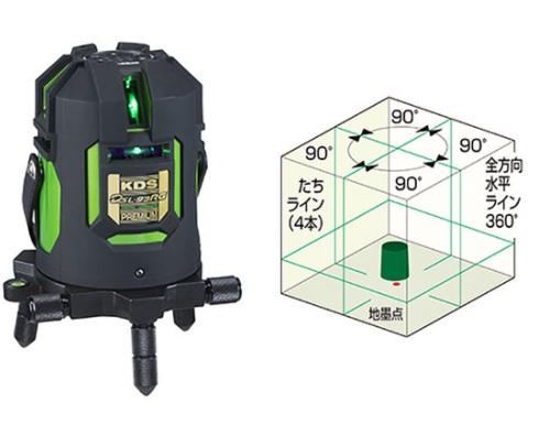 ムラテックKDS 電子整準&フルラインレーザー DSL-93RG