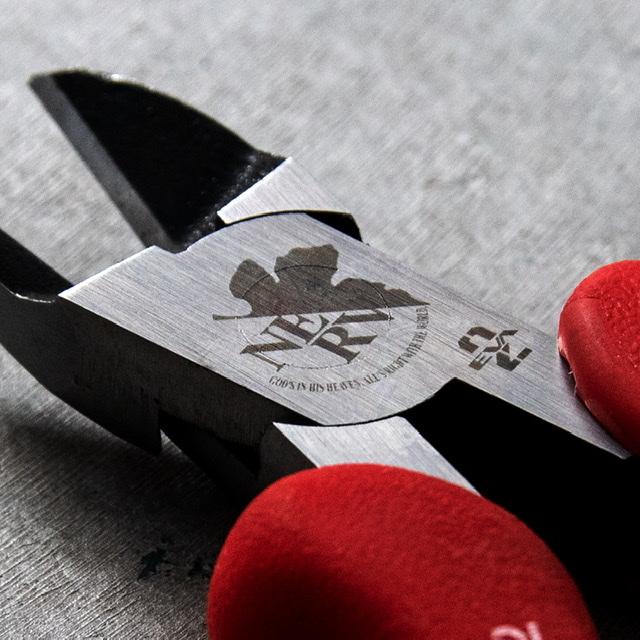 A.T.FIELD ハリガネニッパ 130mm 2号機モデル(角利産業)