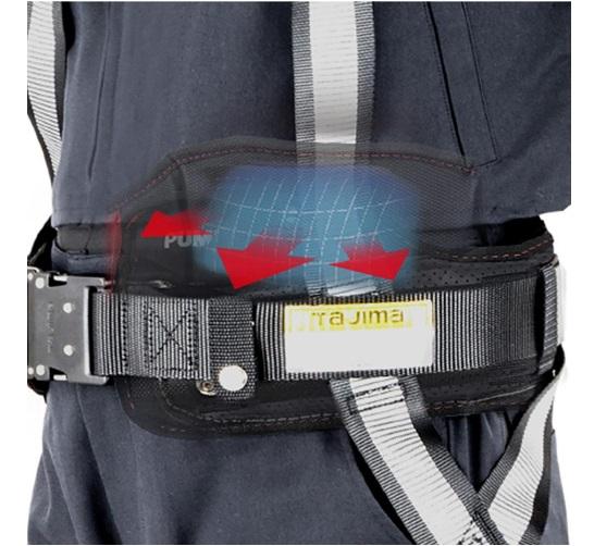 TAJIMA(タジマ)胴当てベルト「空圧」ACRX