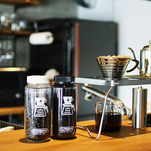 コーヒービーンズ キャニスター150g (0.5L) グレーBK
