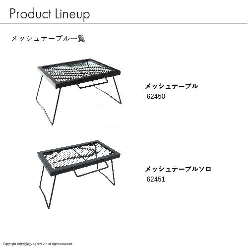 メッシュテーブル