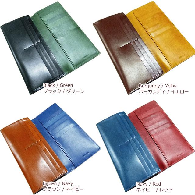 栃木レザー×姫路レザー カード12枚収納 ロングウォレット