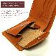 栃木レザー仕様 国産 コンパクト 二つ折りショートウォレット