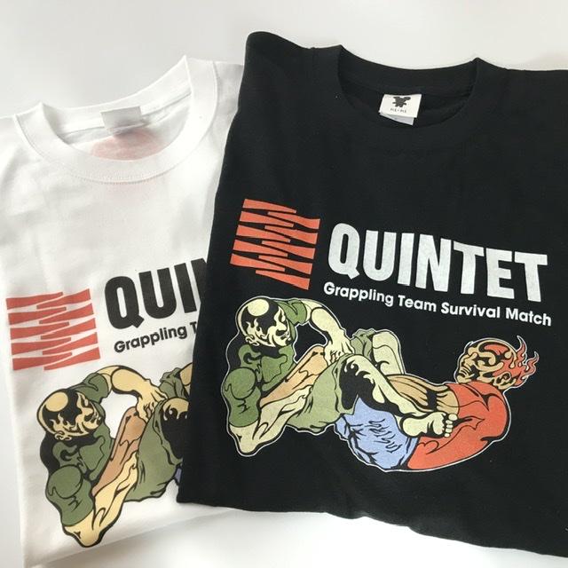 秀久xQUINTET オリジナルTシャツ