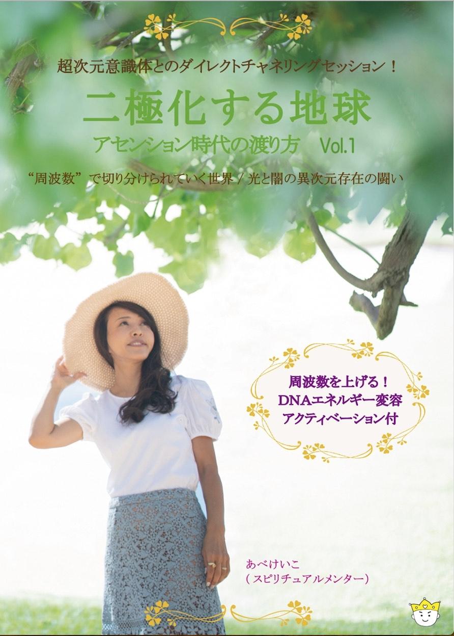 【DVD】二極化する地球 アセンション時代の渡り方 Vol.1 講師:あべけいこ
