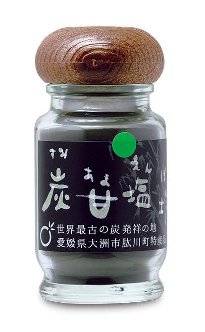 黒い炭甘塩坊 (くろいすみあまえんぼう)