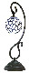 NOSSA 天然石ステンドグラス風ランプ Mエスベース