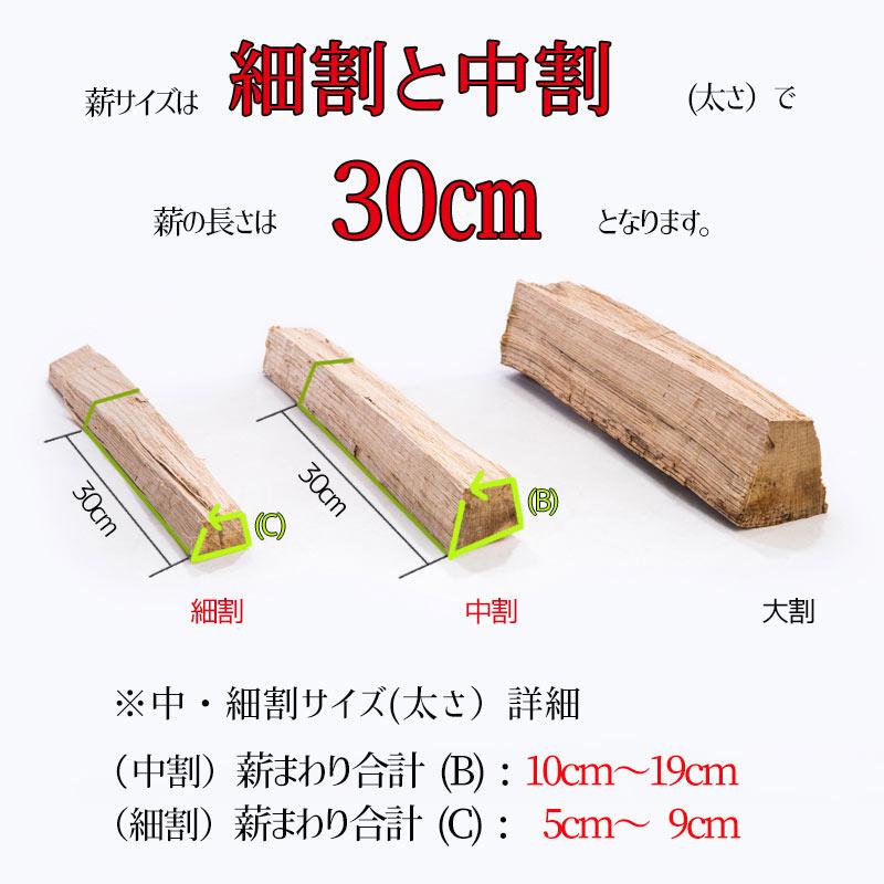 焚き火薪セットC[カシ/ケヤキ]人工乾燥11�