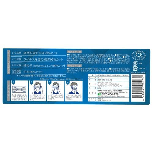 セール!不織布マスク ふつう 50枚入  (ウイルス対策・マスク) 【tr_320】