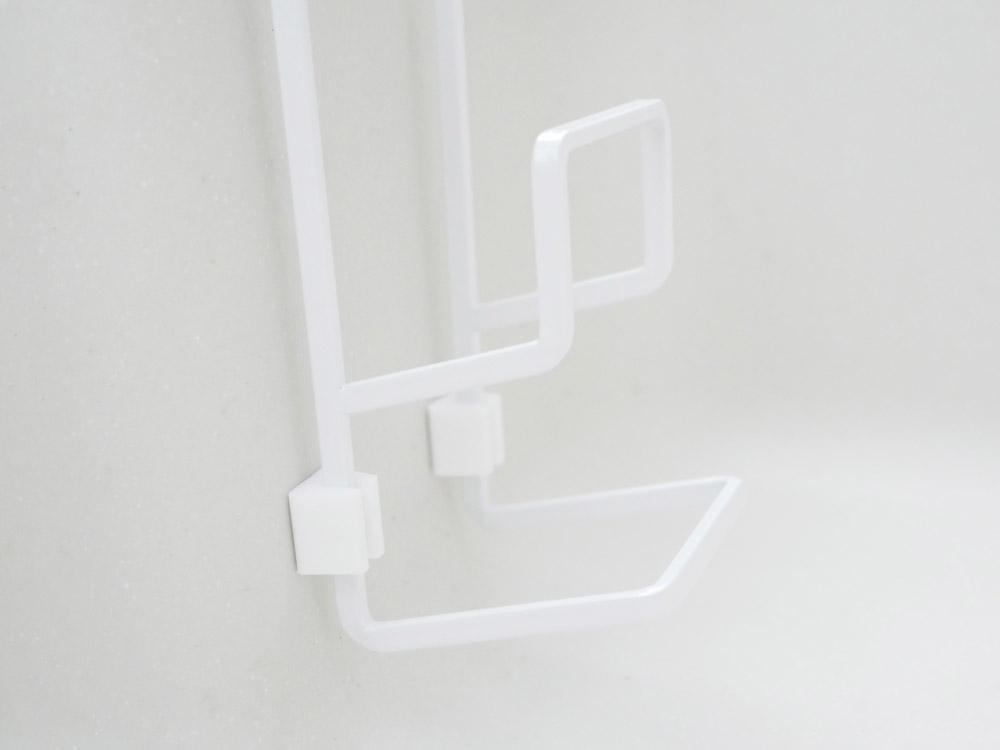 【tower】蛇口にかけるスポンジホルダー ダブル/ホワイト
