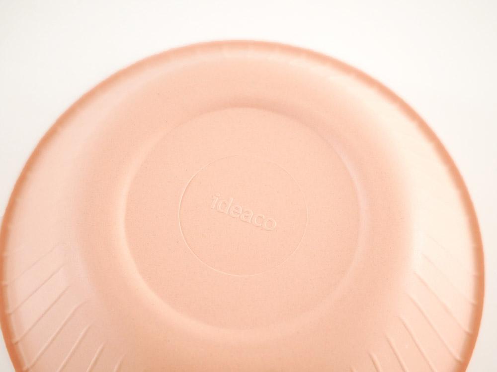 【ideaco】b fiber ボウル 4枚セットピンク
