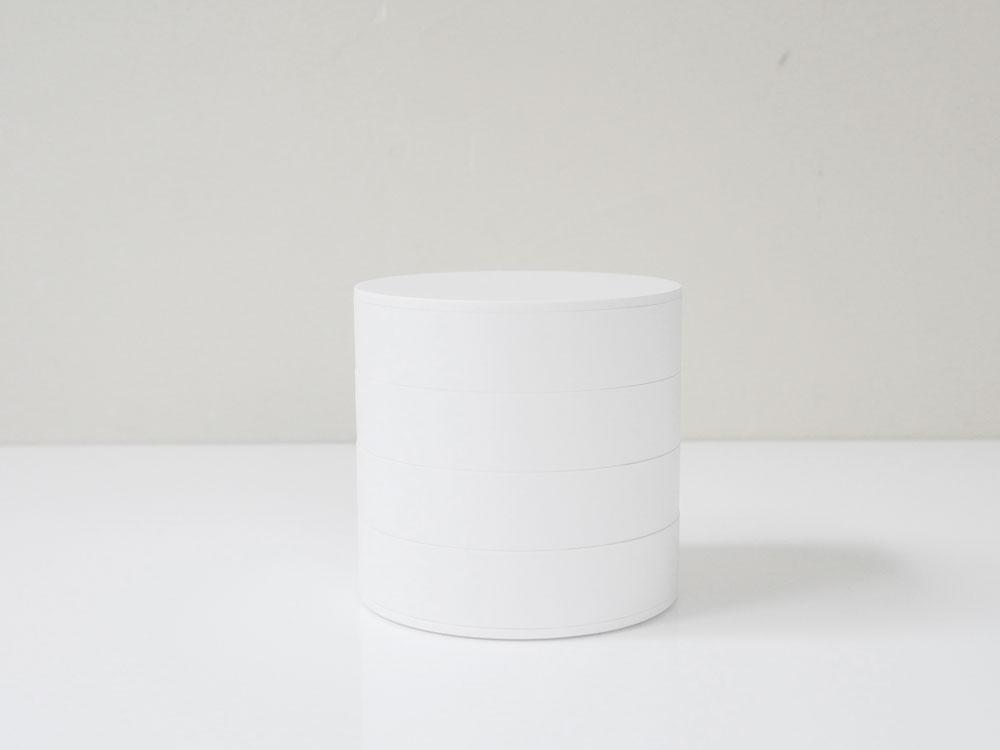 【tower】アクセサリートレー 4段 ホワイト