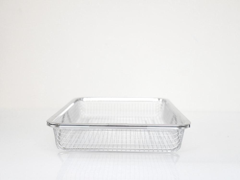【AUX】  leye シンクの中でも水切りメッシュカゴ