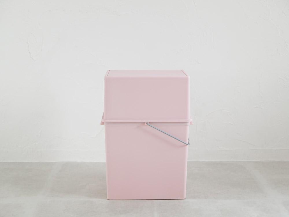 【like-it】フロントオープンダスト(浅)ピンク