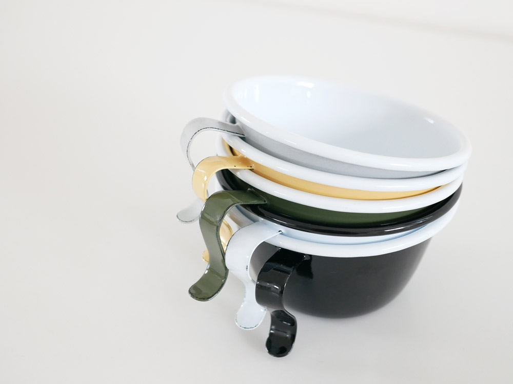 【POSH LIVING】POMEL スタッキングカップ ホワイト
