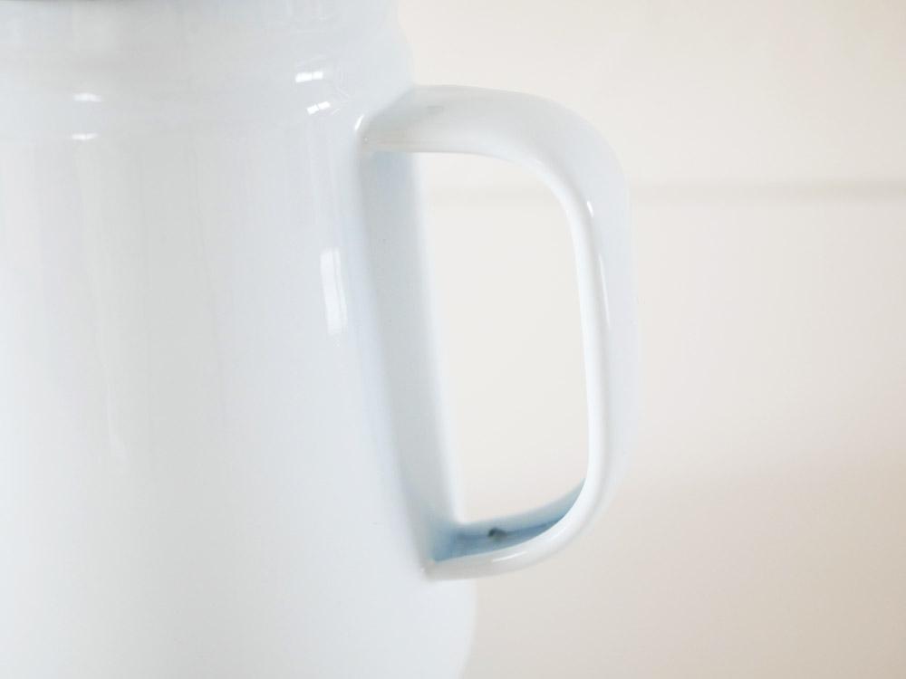 【POSH LIVING】POMEL コーヒーポット ホワイト