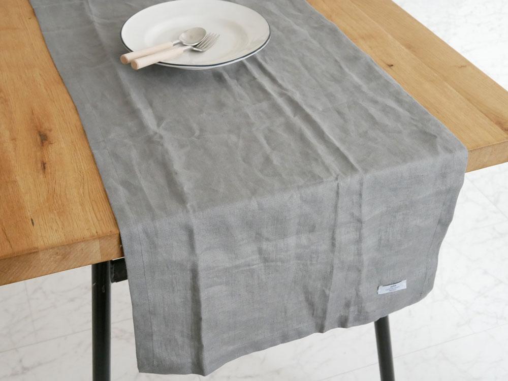 【COSTA NOVA】PORTO テーブルランナー / グレー