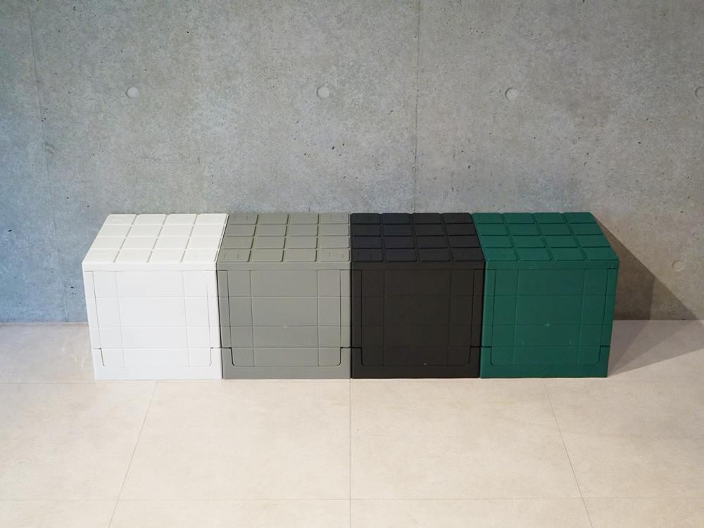 【Grid container】 グリッドコンテナー  キューブ ホワイト