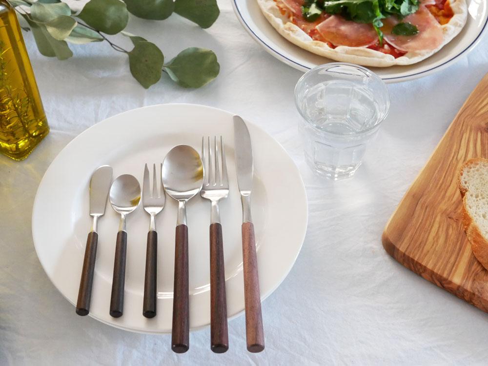 【SALUS】ローズウッド デザートナイフ