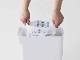 【tower】密閉米びつ 10kg 計量カップ付 ホワイト