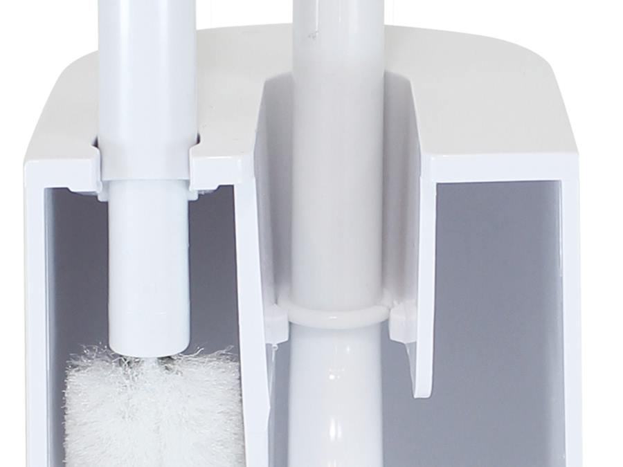 【MARNA】2in1 Slim トイレブラシ ホワイト