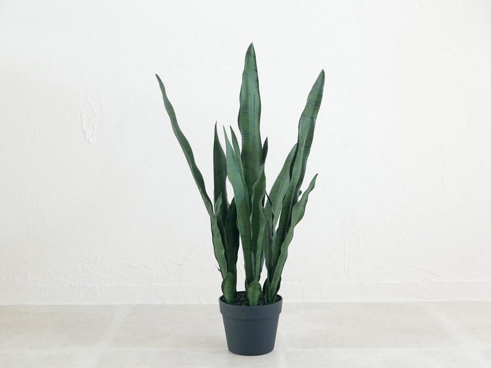 【POSH LIVING】人工観葉植物 サンセベリア