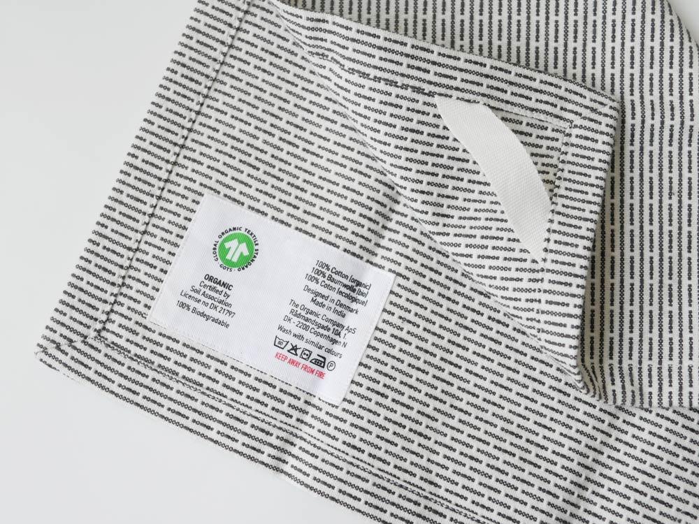 【The Organic Company】PIQUE TOWEL 35×30 モーニンググレー