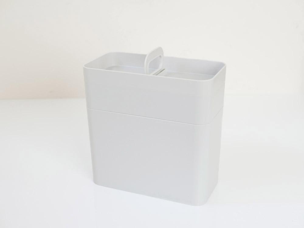 【like-it】持ち運びができるメイクボックス グレー