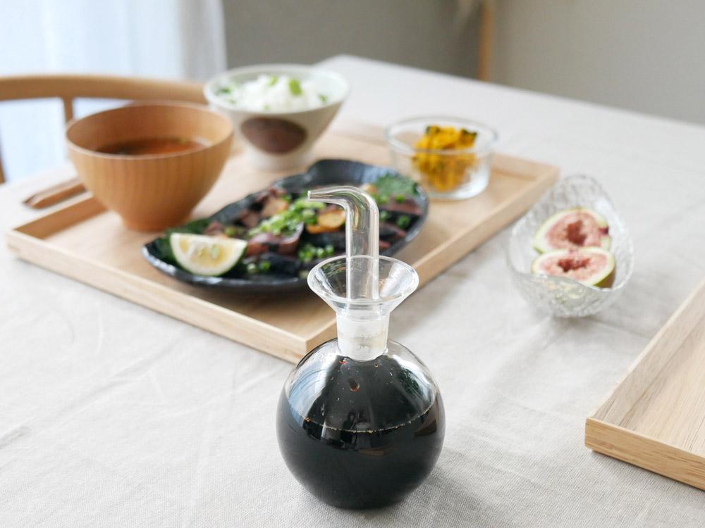 【KINTO】耐熱ガラス ソースボトル L