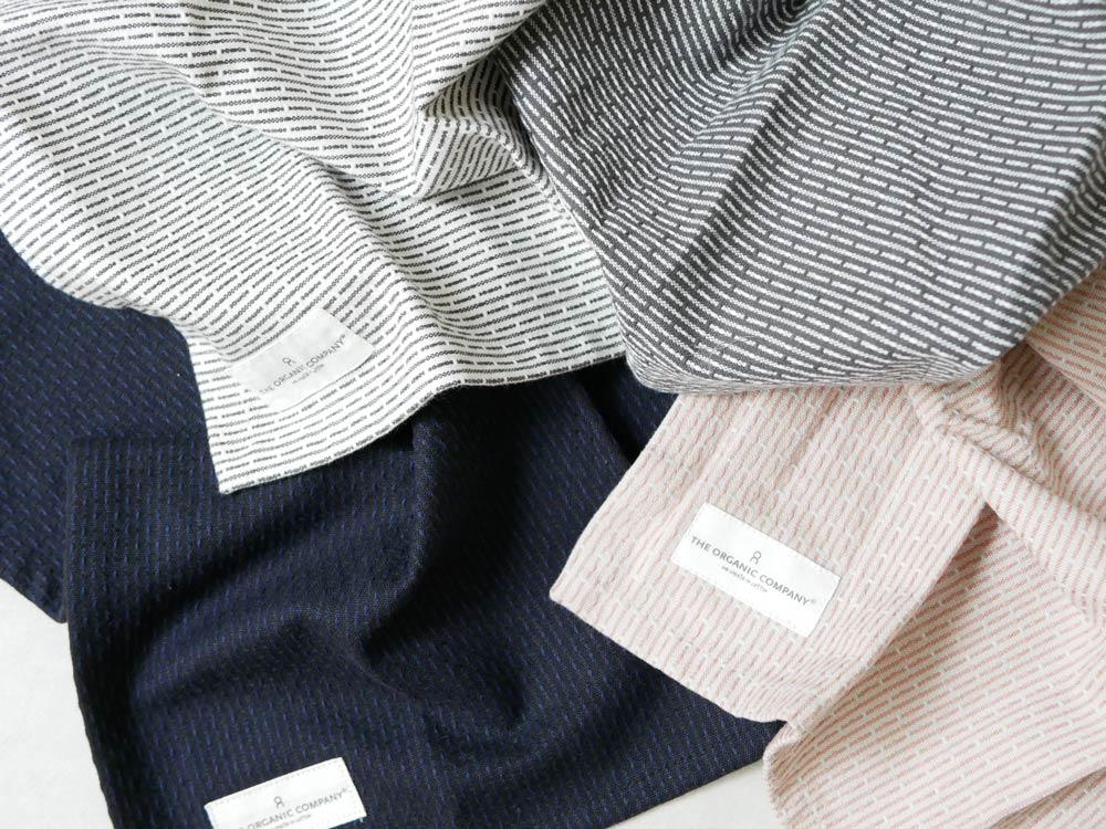 【The Organic Company】PIQUE TOWEL 35×30 イブニンググレー