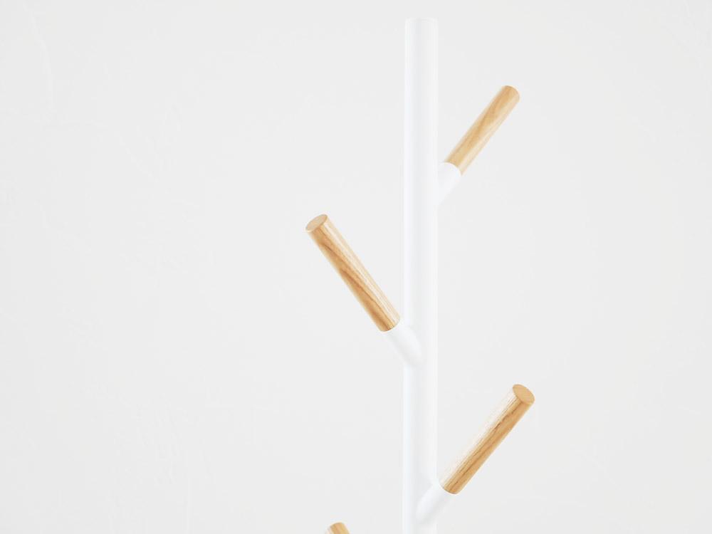 【Plain】ポールハンガー ホワイト