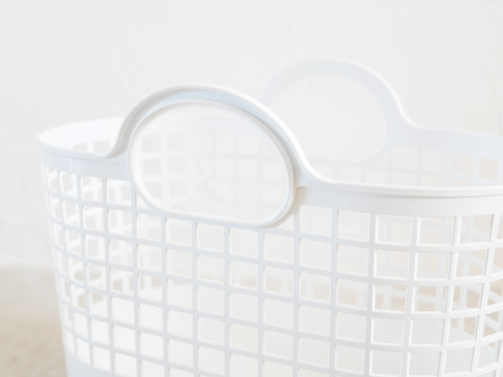 【like-it】タウンバスケットミニ ホワイト