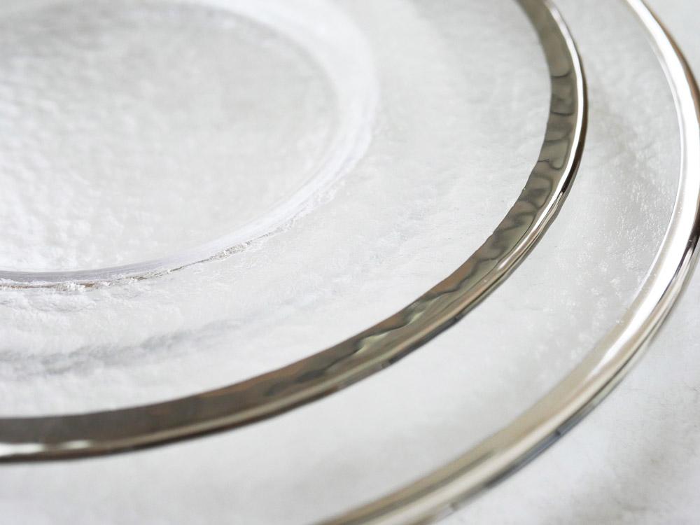 【予約販売1月中旬入荷予定】【DULTON】グラステーブルウェア オーボプレート22cm