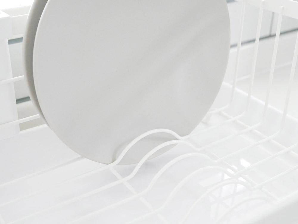【tosca】水切りバスケット ホワイト