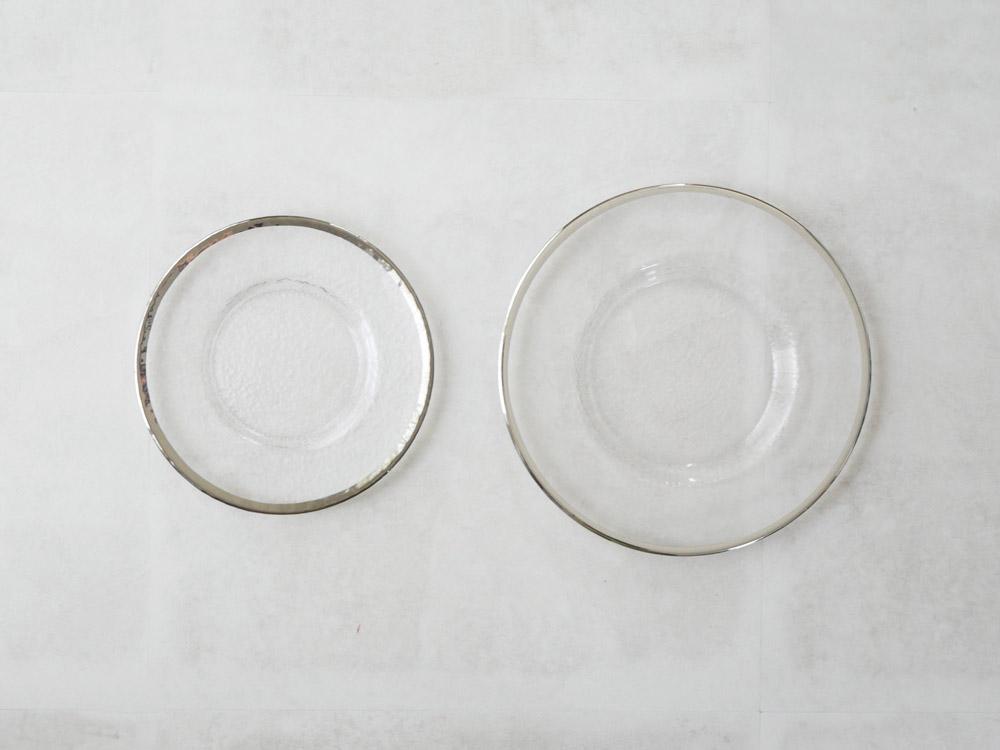 【DULTON】グラステーブルウェア オーボプレート 28cm