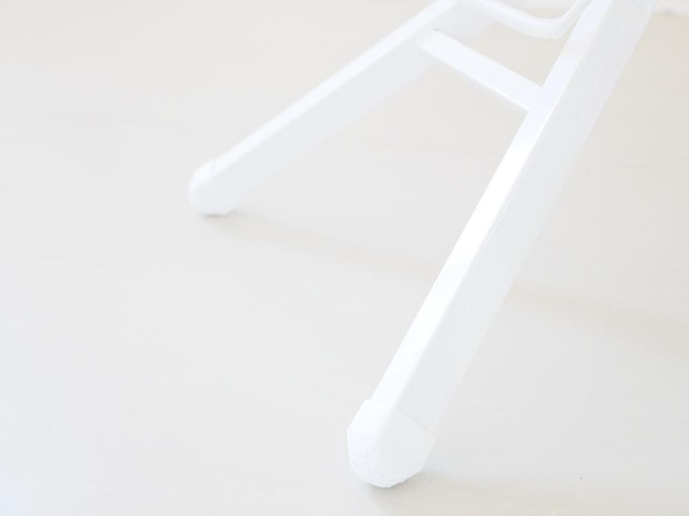 【tower】スタンド式アイロン台 ホワイト