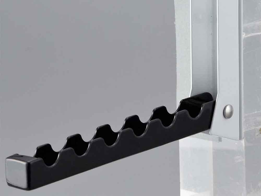 【smart】折りたたみドアハンガー ブラック