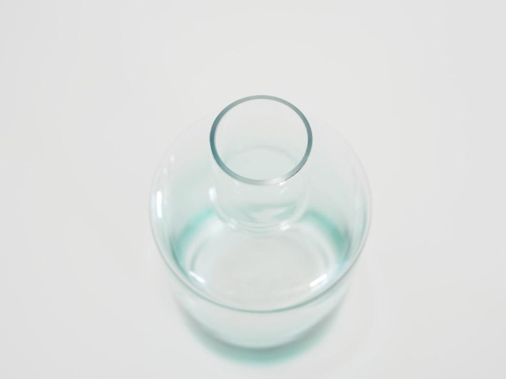 【POSH LIVING】ガラスボトル M/ブルー