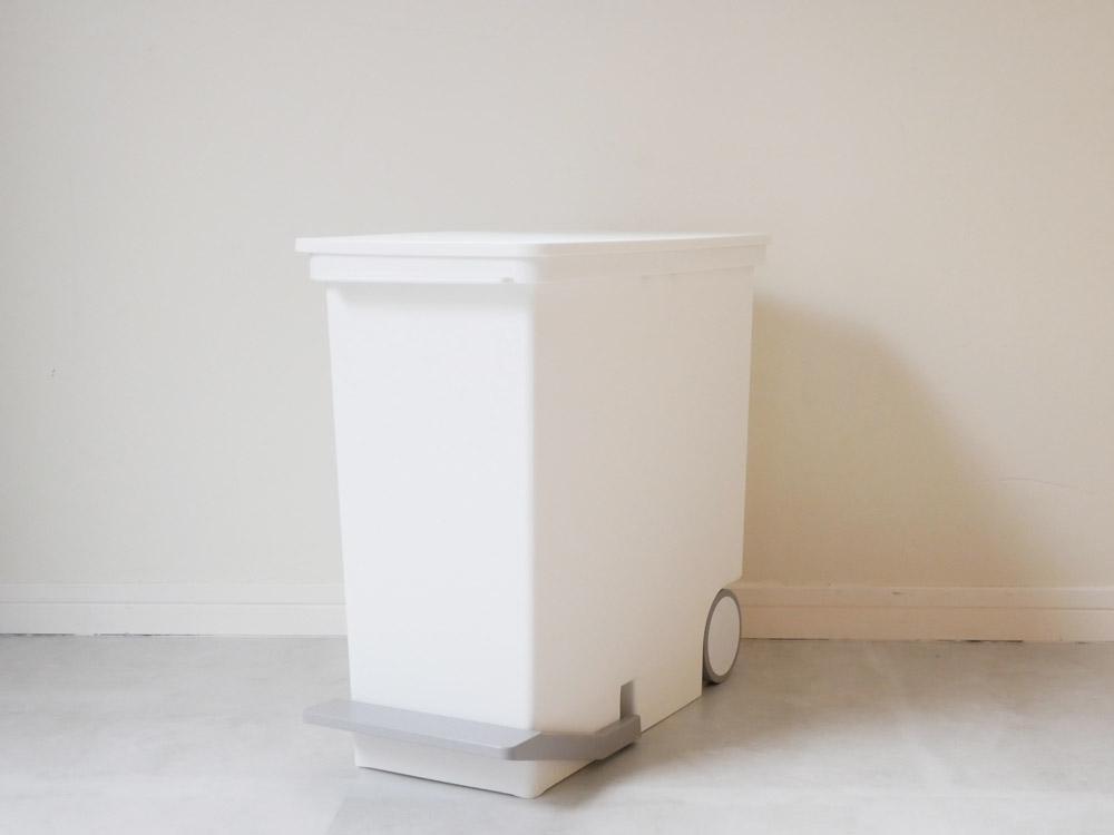 【like-it】オルア25スリム縦型分別ペダルペール ホワイト