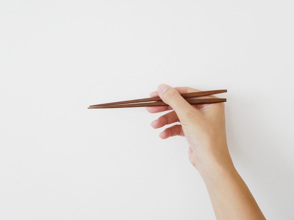 【江戸木箸】利休 S【受注生産商品】