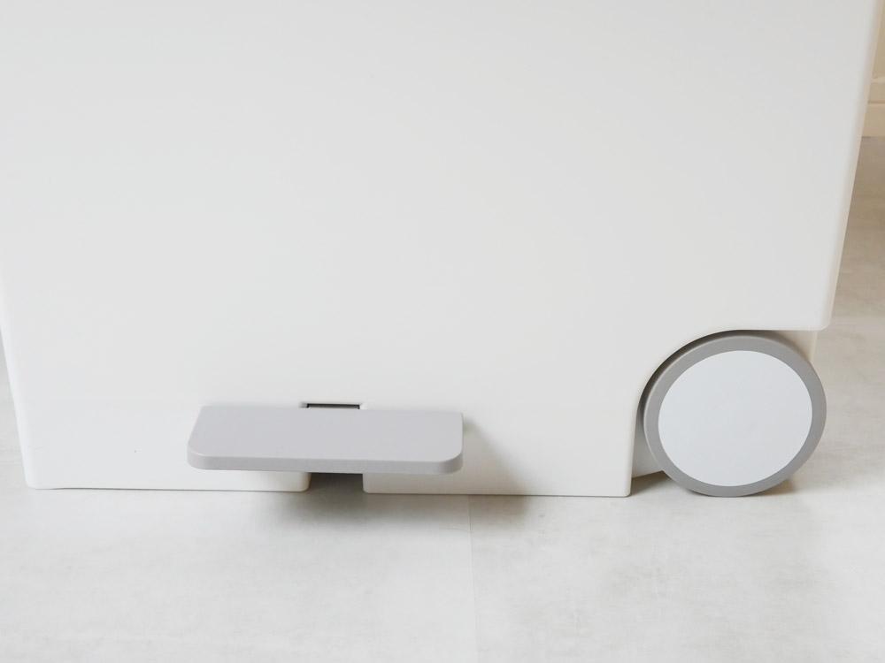 【like-it】オルア33ワイド横型分別ペダルペール ホワイト