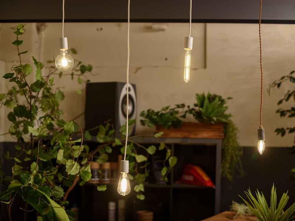 【Another Garden】LED SWAN バブルディマー シャンデリア(調光タイプ)