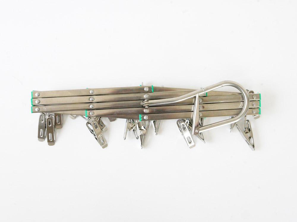 【松野屋】折りたたみピンチハンガー 小