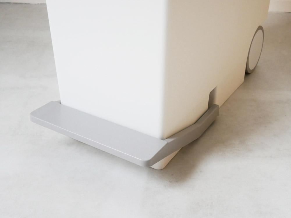 【like-it】オルア33スリム縦型分別ペダルペール ホワイト
